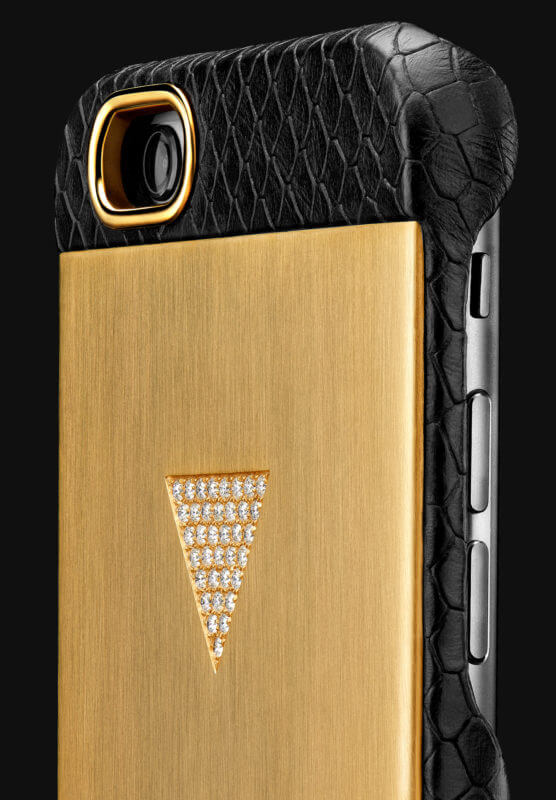 Luxury and diamonds iPhone cover by Frontman