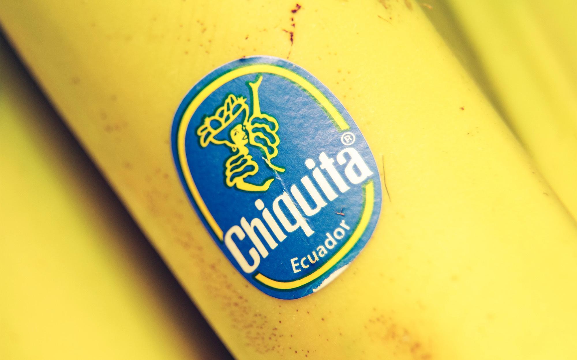 Chiquita brand as quality warranty for Ecuador nationality