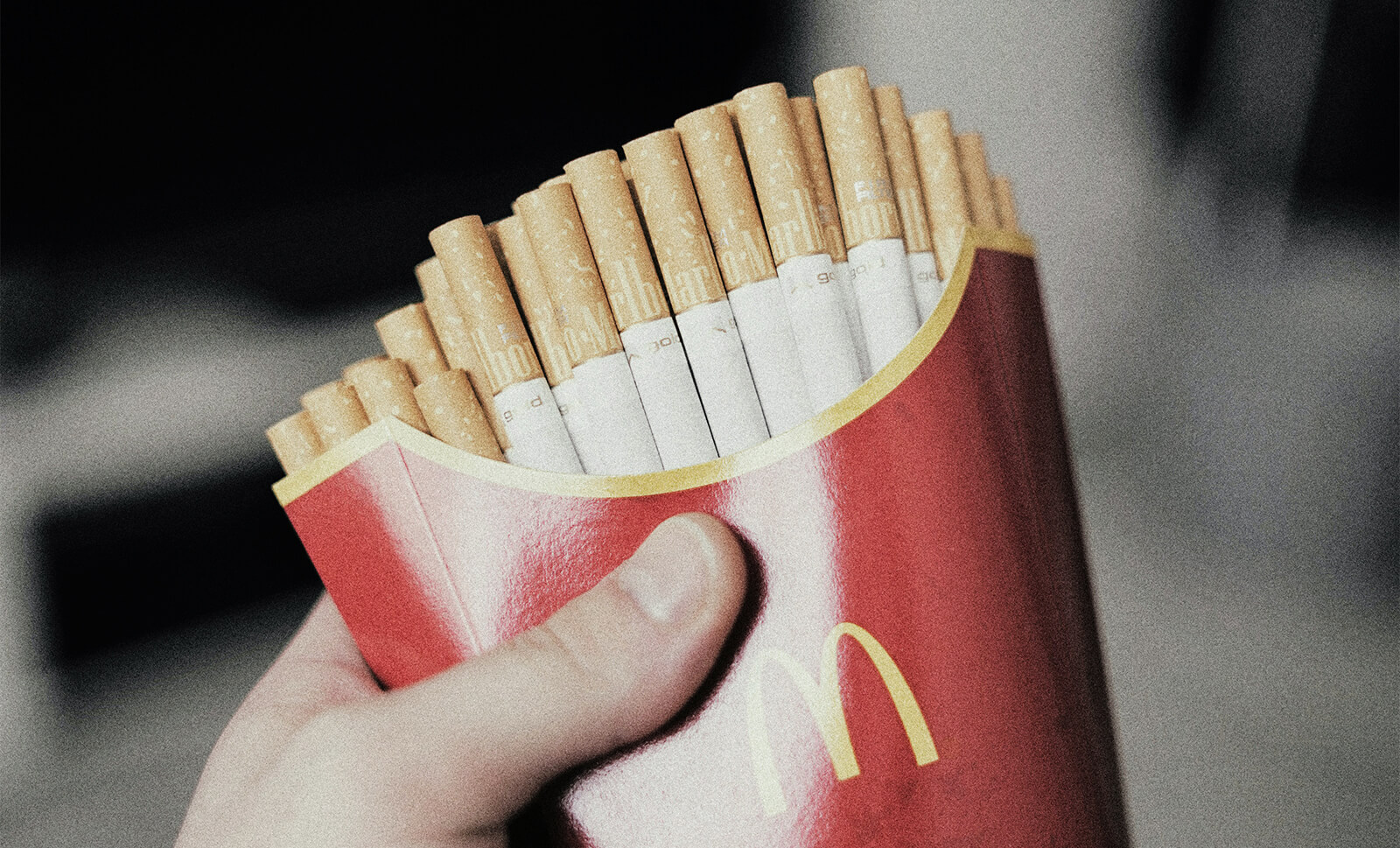 Brand collaborative story Mc Donald's fries